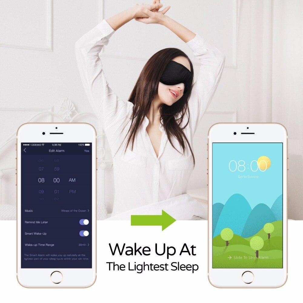 Auriculares Sleepace para dormir, cómodos antiojales lavables con bloqueo de sonido/cancelación de ruido, auriculares con control inteligente por aplicación remota