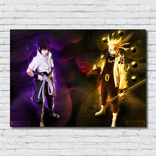 Naruto Naruto Uzumaki Sasuke Uchiha Malerei qualität Wohnkultur Kunst Decor poster wohnzimmer wand kunst leinwand malerei R62