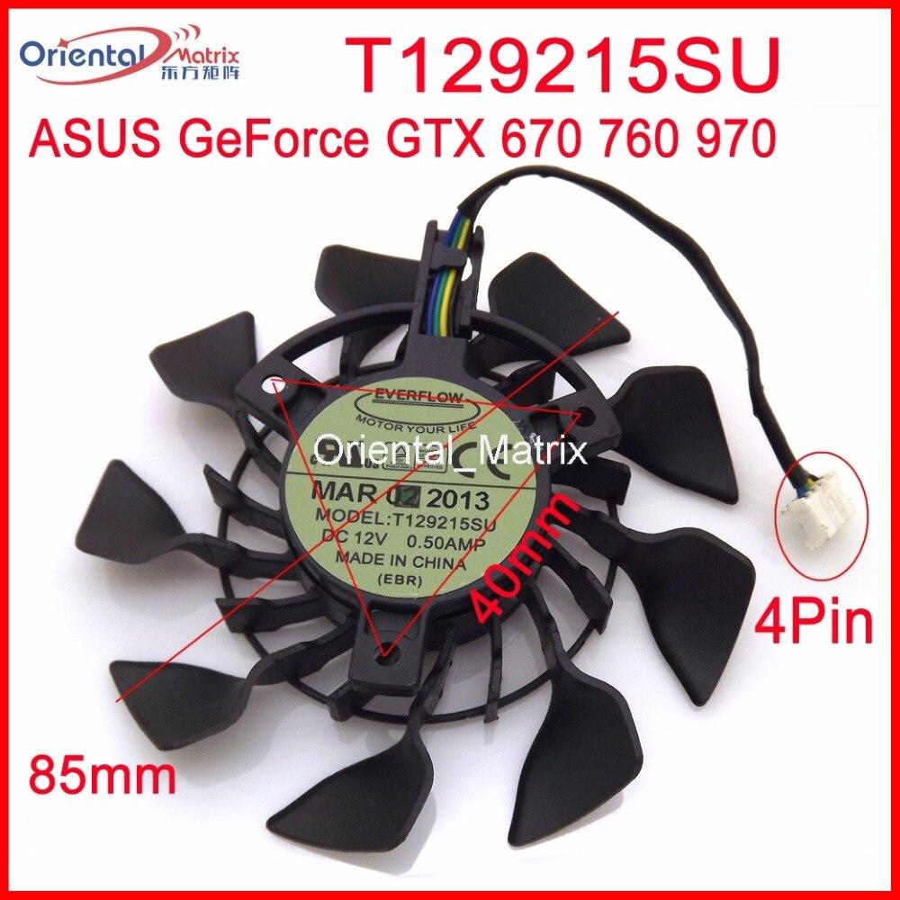 Mini ventilador de refrigeración para tarjeta gráfica, ventilador enfriador de 12V, 0.5A,...