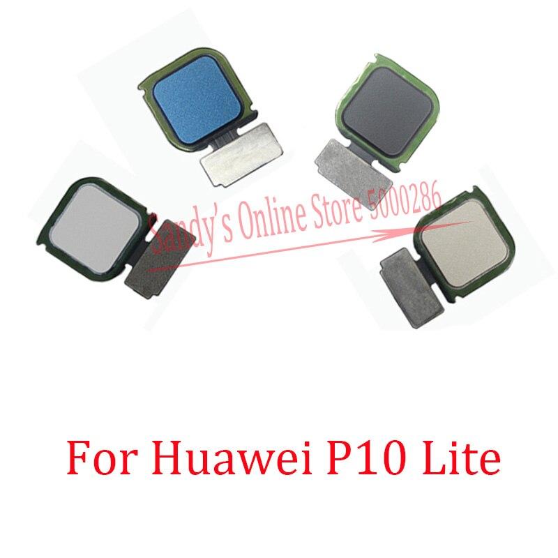1 unids/lote retorno inicio botón Atrás toque la huella dactilar Sensor Flex Cable para Huawei P10 Lite / Nova Lite repuestos