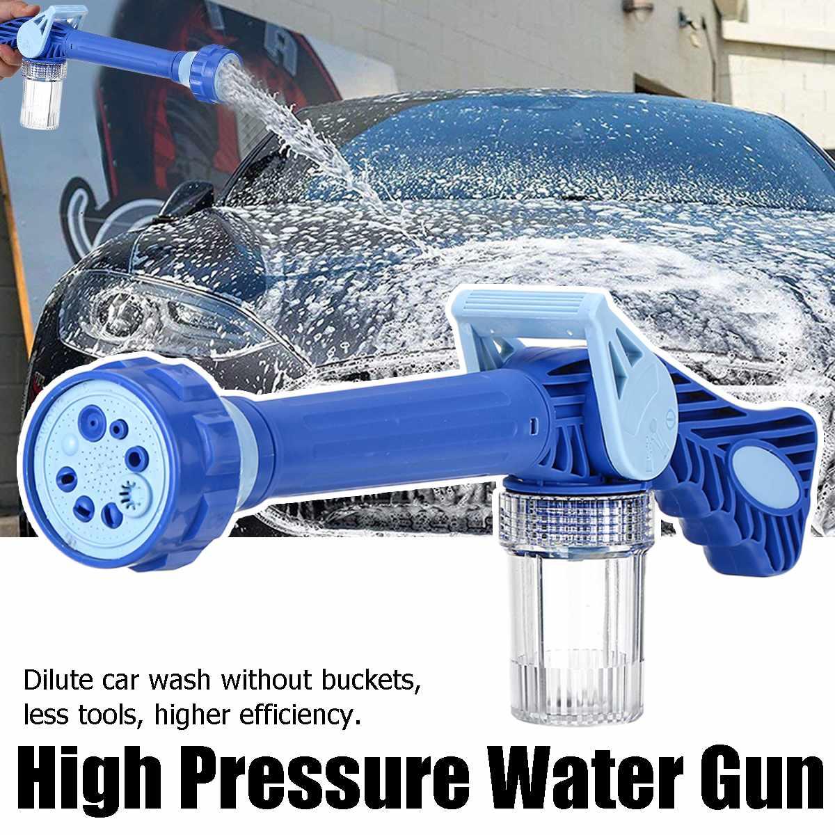 8 In 1 High pressure washer Car Wash gun Pressure Portable Car Deep Cleaning Spray Cleaner Watering Multifunction Foam Snow