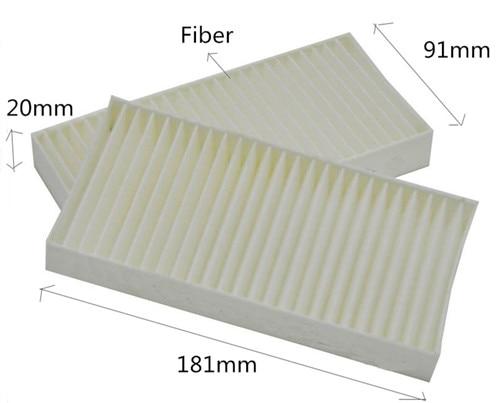 CF10747 envío gratis CU1811-2 salida de fábrica OEM 68033193AA filtro de aire de cabina de coche WIX49093 para JEPP LIBERTY 181*91*20mm 2 unids/set
