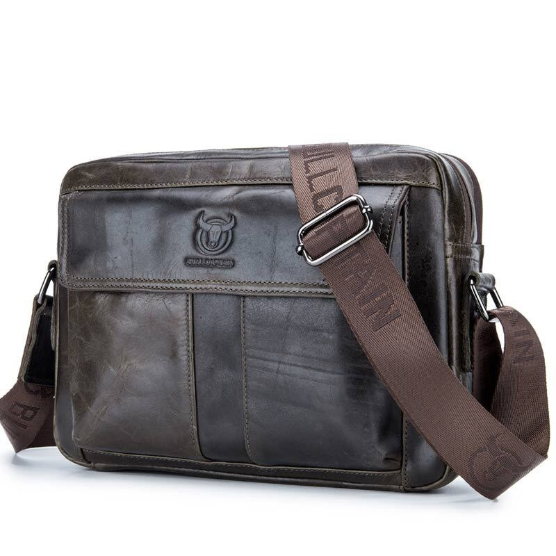 Men Messenger Bag Shoulder Bag Genuine Leather Small Male Man Crossbody For Leather Ipad Handbags Business Fashion Bolsa Gift