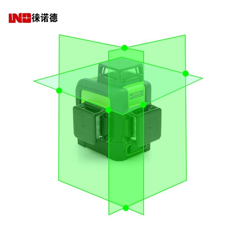 LND  3d Self Leveling Green Laser Level 360 Degree 12 Lines Horizontal&Vertical Cross