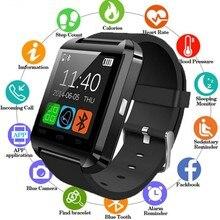 U8 Bluetooth Montre Intelligente Умные часы Passomètre Rappel Dappel Rappel de Message Smartwatch Pour iPhone IOS Android Montres