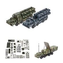 172 s-300 ракетные системы радар автомобиль Собранный военный автомобиль модель игрушки