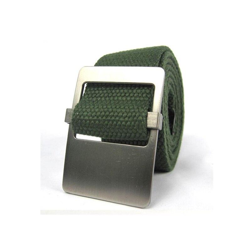 2019 new arrivals canvas fashion men canvas strap belt men tactical strap AYG237