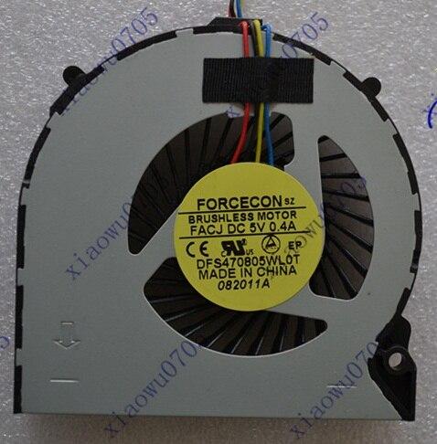 SSEA Nueva CPU ventilador para Sony VPCEH EH16 EH26 EH36 EH38 EH100 EH25YC Ventilador de refrigeración para portátil/P/N DFS470805WL0T o KSB05105HB