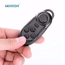 Moveski 001 manette de jeu Bluetooth manette de jeu Selfie obturateur à distance souris sans fil pour iOS Android Smartphone boîte de télévision