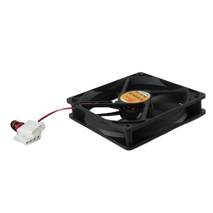 Computer Cooler Case 12V 12CM 1MM PC CPU Cooling Cooler Fan 0418 drop shipping