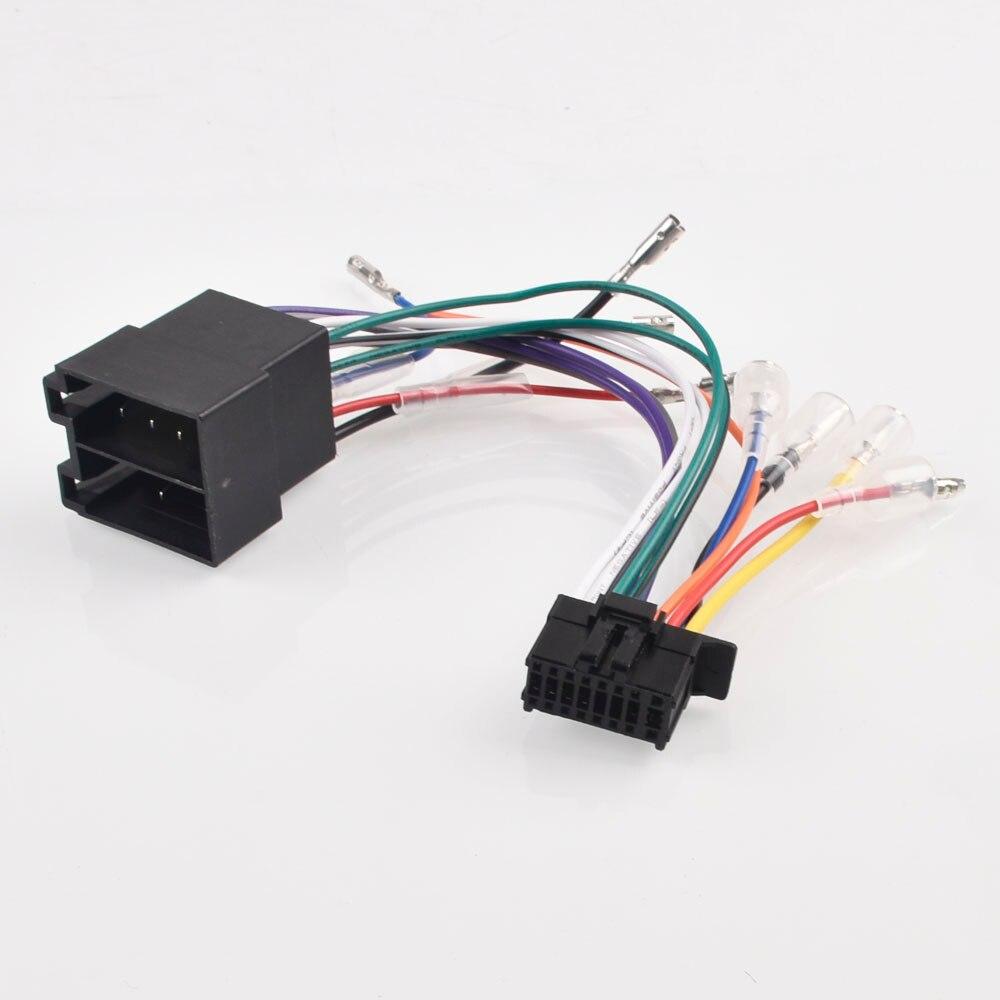 Mazo de cables para coche, Cable de enchufe de 16 pines para...