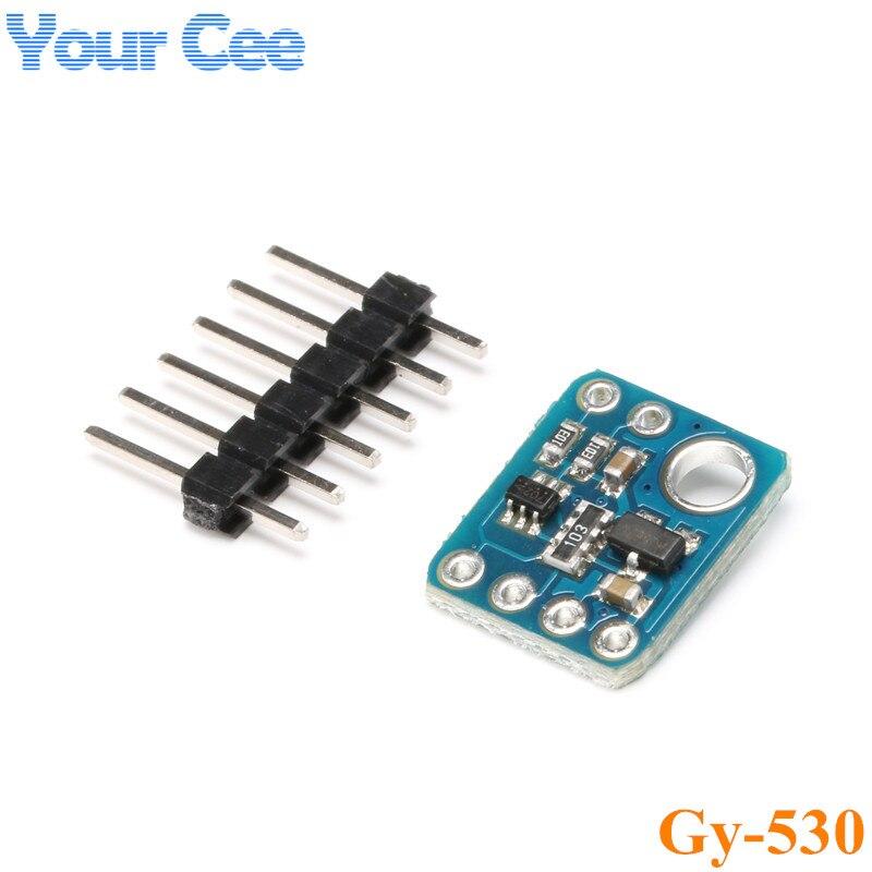 2 pc GY-530 VL53L0X Laser Che Vanno Modulo Sensore Più Piccolo Del Mondo a Tempo o f-di Volo (ToF) modulo di comunicazione IIC Che Vanno