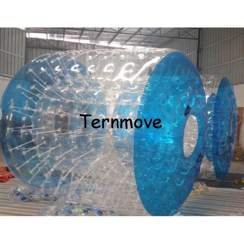 Bolas de rodillo de agua rodante para piscina, rodillo de agua inflable de gran oferta, rodillo de paseo de agua inflable