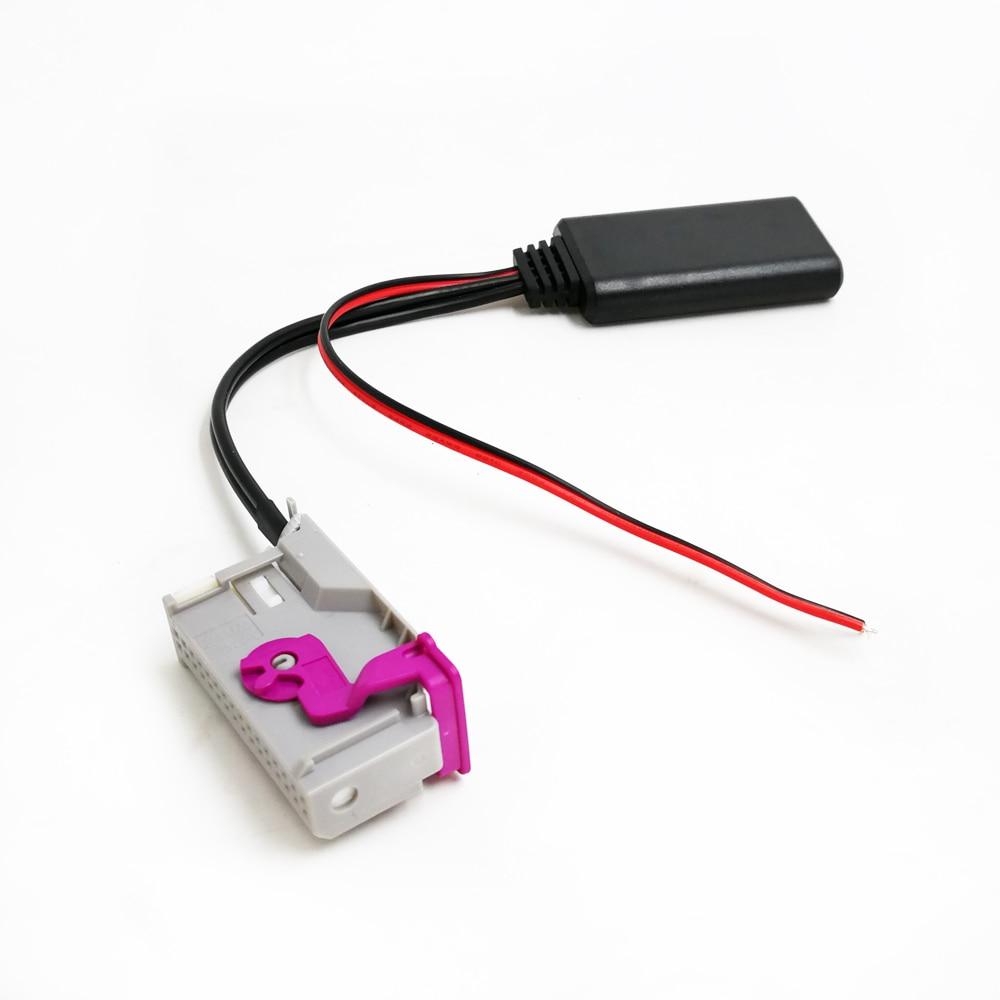 Auto Bluetooth 5,0 Modul Drahtlose Audio Eingang für Audi RNS-E Navigation A8 TT R8 A3 A4 Radio Stereo 32Pin AUX adapter