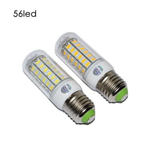 E27 SMD5730 LED Corn Lamps 56 Led  Bulb Light 18w Wall Downlight Pendant High Bright corn led light lamp trpe e27