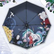 Parapluie avec accessoire de Cosplay Anime   Parapluie ensoleillé et pluvieux, Miyazaki Hayao un Voyage de Chihiro, parapluie de pluie, cadeau