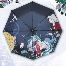 Anime Spirited Away rekwizyt cosplay Parasol Parasol na słońce i deszcz hayao miyazaki podróż Chihiro Parasol przeciwdeszczowy Parasol prezent