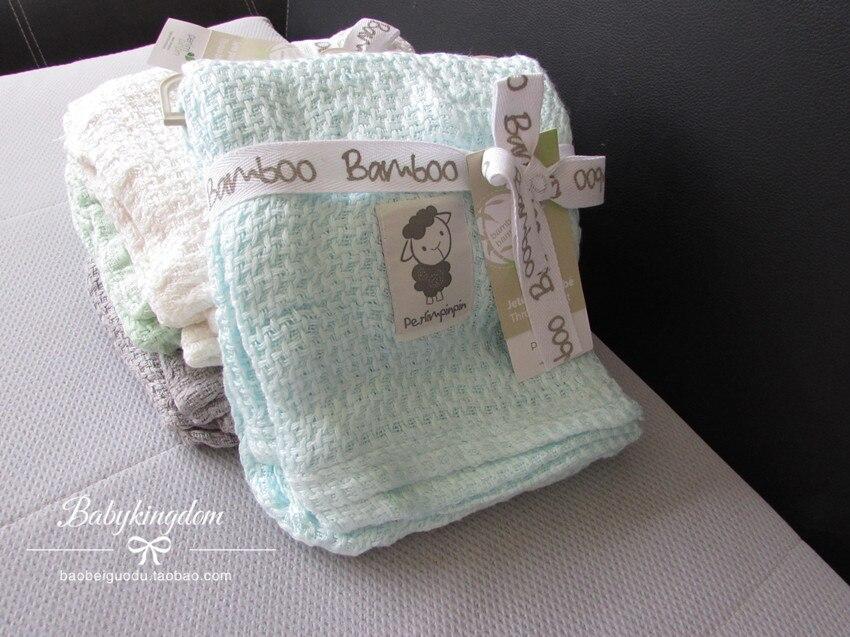 Envío Gratis 100% fibra de bambú Adén anais carbasus bebé manta Toalla de baño sábanas Manta con etiqueta no mancha 92 cm X 92 cm