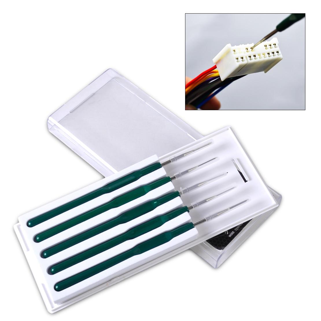 DWCX-Terminal de Cable de coche DIY, 5 uds., enchufe, Pin, herramienta de...