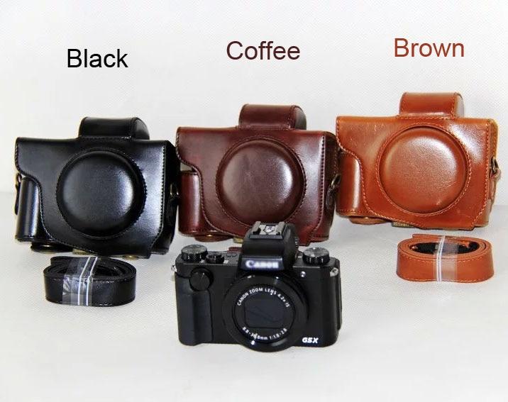 Kamera Tasche PU Fall Für Canon PowerShot G5X Digital Kamera