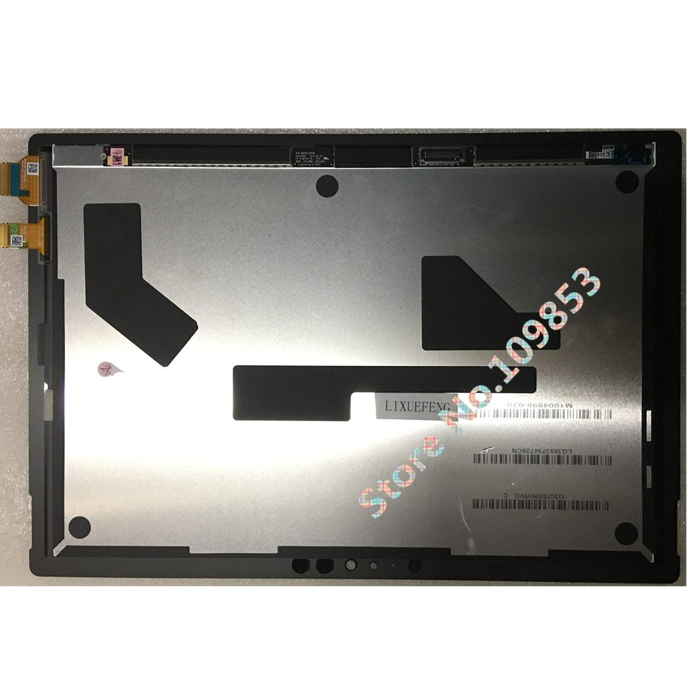 For Microsoft Surface Pro 5 1796 12.3 LCD LED Touch Screen + Digitizer Assembly surface pro5 pro 6