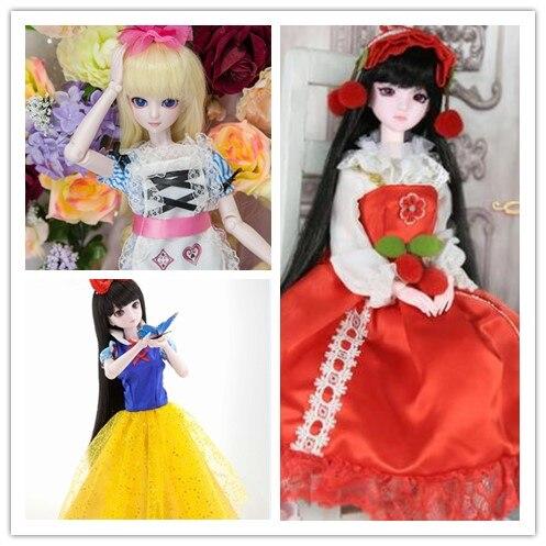 1/4 muñecas bjd SD de 50cm modelo renacer niñas niños ojos juguetes de alta calidad ojos de vidrio