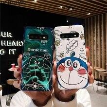 DCHZIUAN Doraemon Caixa Do Telefone Para Samsung Galaxy Note 10 S10 Mais Caso para Samsung S9 S10E S8 Plus Nota 8 9 Caso bonito Dos Desenhos Animados