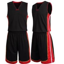L-5XL Custom Basketball Kleidung training Männer Set Jersey mit Kurzen Sportwear Anzug Basketball Set Maillot De Korb-ball Homme