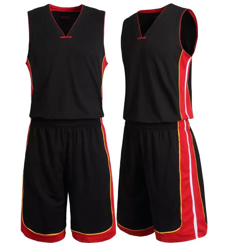 L-5XL personalizado basquete roupas de treinamento masculino conjunto jérsei com curto sportwear terno conjunto de basquete maillot de cesta-bola homme
