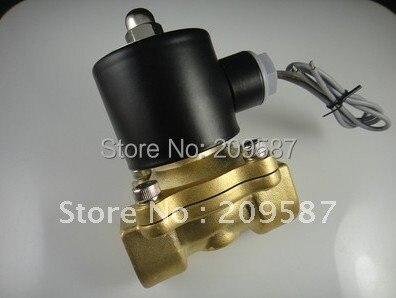 "Electric Solenoid Valve Water Air N/C 24V DC 3/4"" 2w-200-20"