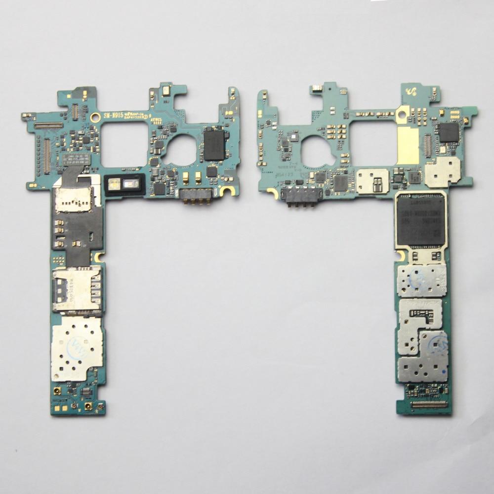 Principal placa base desbloqueado para Samsung Galaxy nota borde N915T 32GB