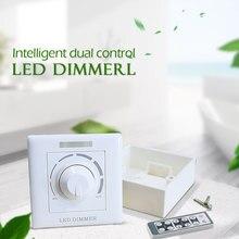 AC110/220 v Weiß Wireless-LED Dimmer Schalter Einstellbar Controller Led-treiber Dimmer Für Dimmbare AC LED Chip Led downlight