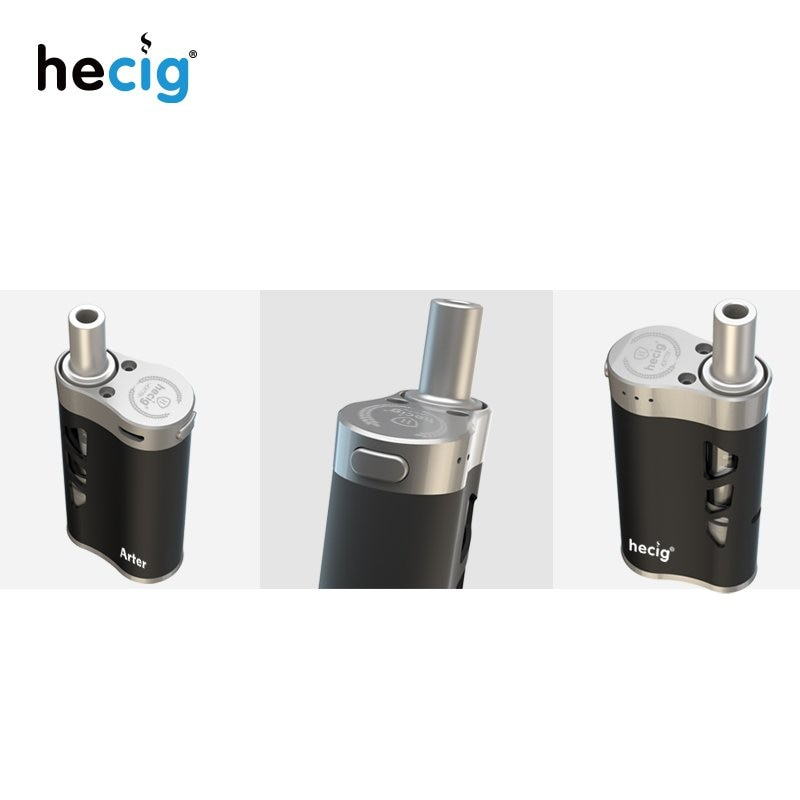 hecig Arter starter kit  4in1 multi-function dry herb liquid wax  vaporizer Arter-AIO vaporizing mod e cigarette  vape enlarge