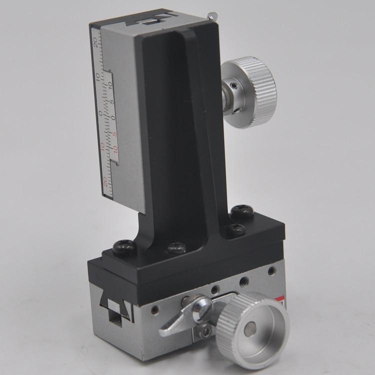 TAR-25504L sigma yz eixo manual de elevação deslocamento precisão entalhe ajuste fino slide tabela 25*50mm cobre