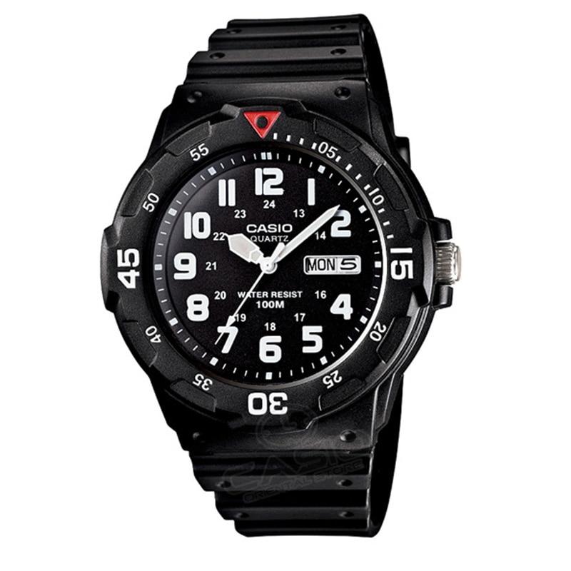 Casio Часы Топ Модные Спортивные кварцевые спортивные мужские наручные часы Мода 2017 часы люксовый бренд Relogio Masculino MRW-200H-2B