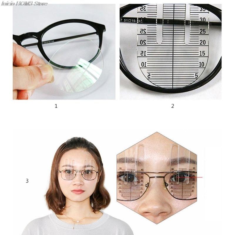 1 par óptico ph régua aluno medidor de altura optometria ph teste olho oftálmica ferramenta