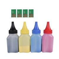 4pcs CF540A -CF543A 203a Color Toner Powder + 4 pcs chip Compatible FOR HP LaserJet Pro M254nw 254dw M280nw M281fdw 281fdn