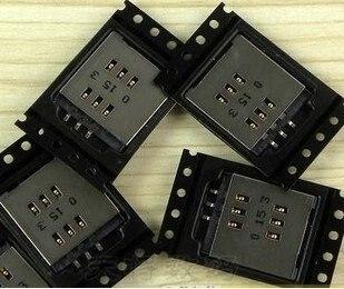 شحن مجاني 10 قطعة/الوحدة سيم بطاقة وحدة لبلاك بيري 9800 حامل بطاقة sim صينية المقبس