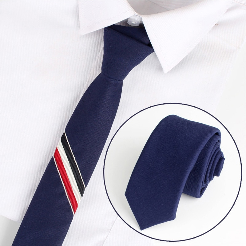 2019 New High Quality Men's Classic Striped 6cm Slim WIne Red Neck Tie Formal Business Meeting Neck Tie for Men with Gift Box