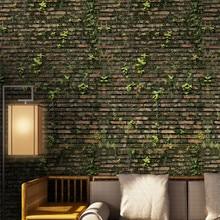 0.4x3.2m Self-adhesive Wall Tiles Stickers Waist Line Kitchen Sticker Decal PVC Adhesive Fake Brick Floor Wallpaper Home Decor