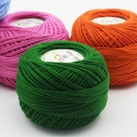 250g 5ball high quality 100 cotton crochet thread summer dresses lace threads for knitting new women clothes hand knit yarn