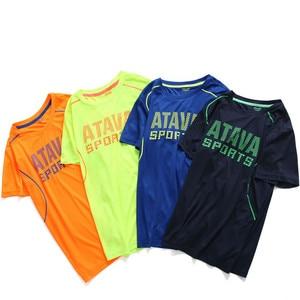 New 2021 summer child kid clothes baby boys quick drying t-shirts sport tops big boys t-shirt short sleeve clothing
