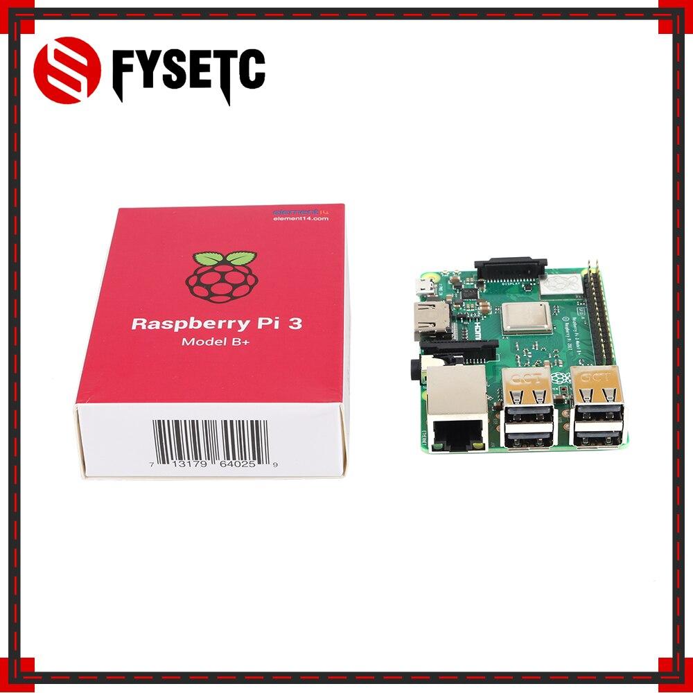 Raspberry Pi 3 Model B+ Board + Heatsink + ABS Case /Alicylic Case + 5V 2.5A US Power Supply + 5MP Megapixel Night Vision Camera