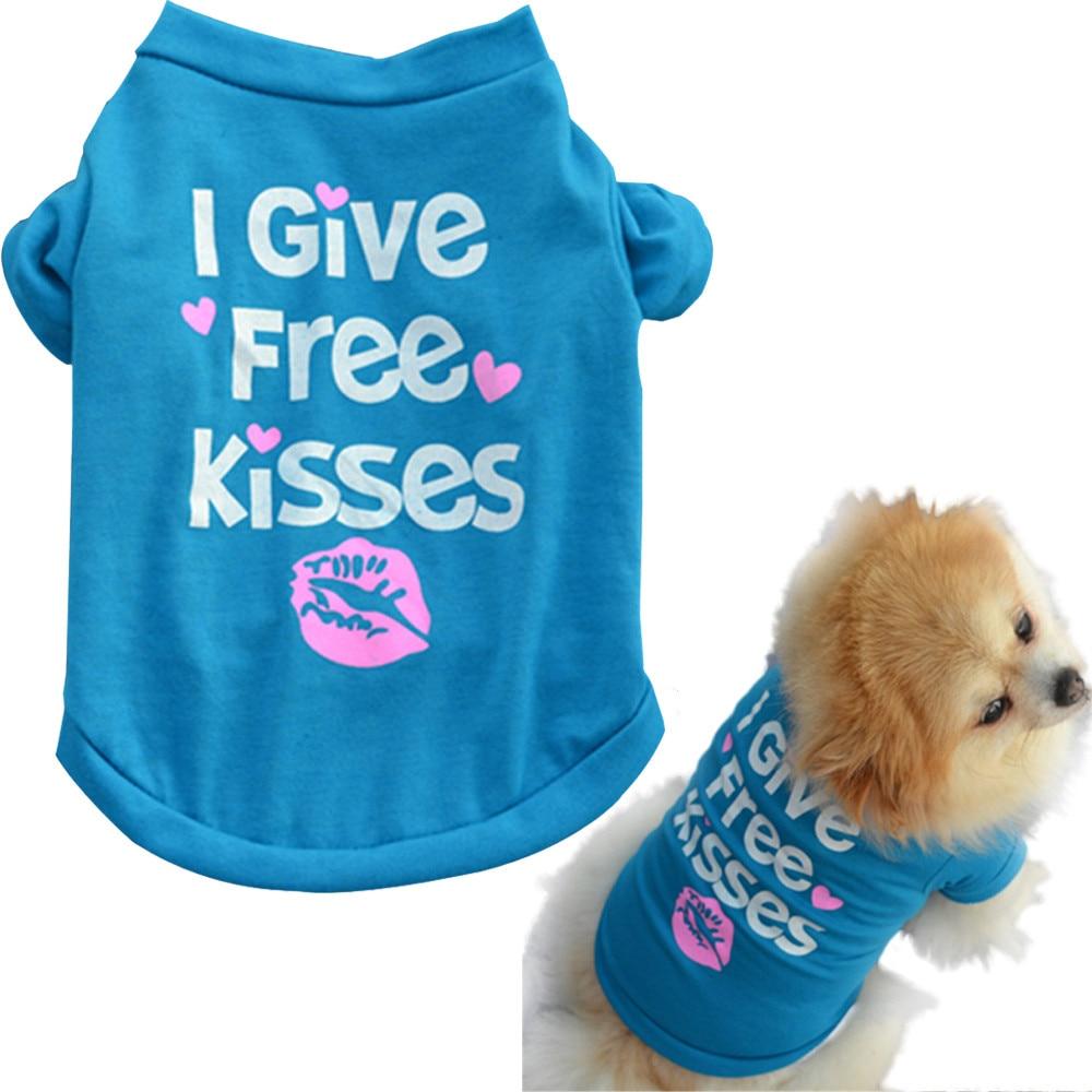 Camisas para perros cachorro camisa de verano pequeño perro gato ropa para mascotas chaleco camiseta drop ship