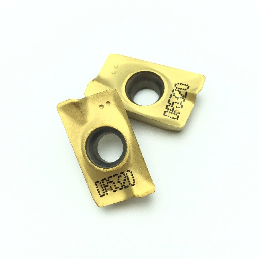 Inserção de Carboneto De ferramentas de Tornear apmt PDER DP5320 APMT1604 1604 Revestimento CVD + PVD moagem de ferramentas De Corte para torno CNC Mill cortador de 5420