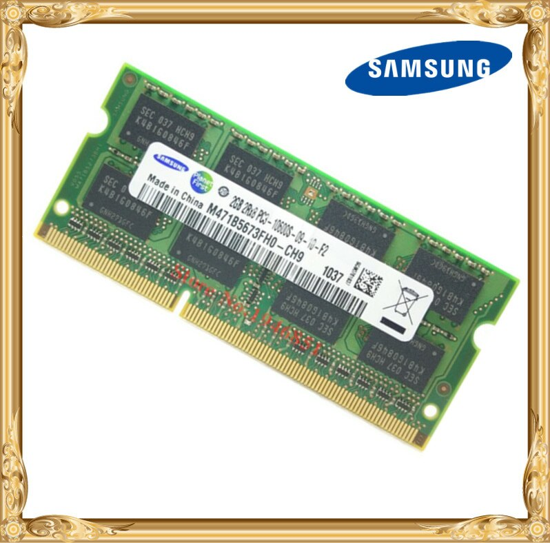 Samsung ноутбук память DDR3 2 Гб 1333 МГц PC3-10600 RAM 10600S 2G