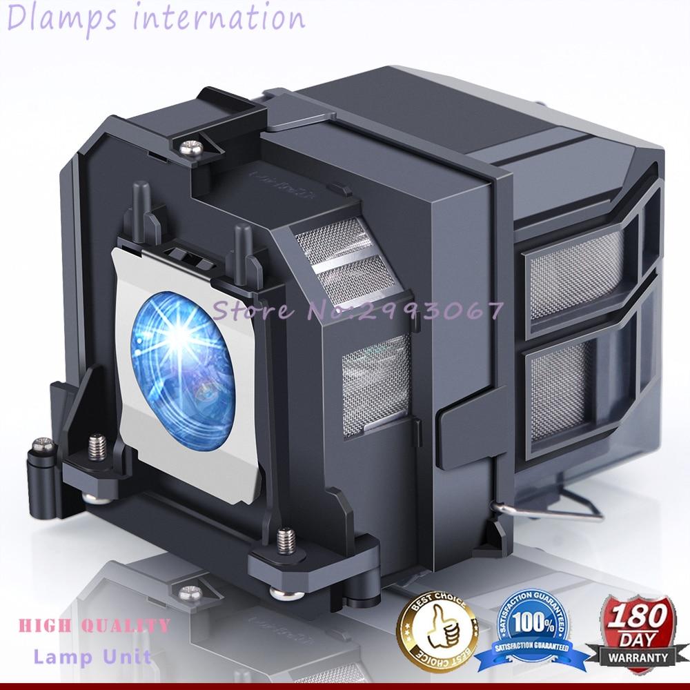 Compatible CB-670 CB-675W CB-675Wi CB-680Wi Projector lamp ELPLP90 V13H010L90 for Epson