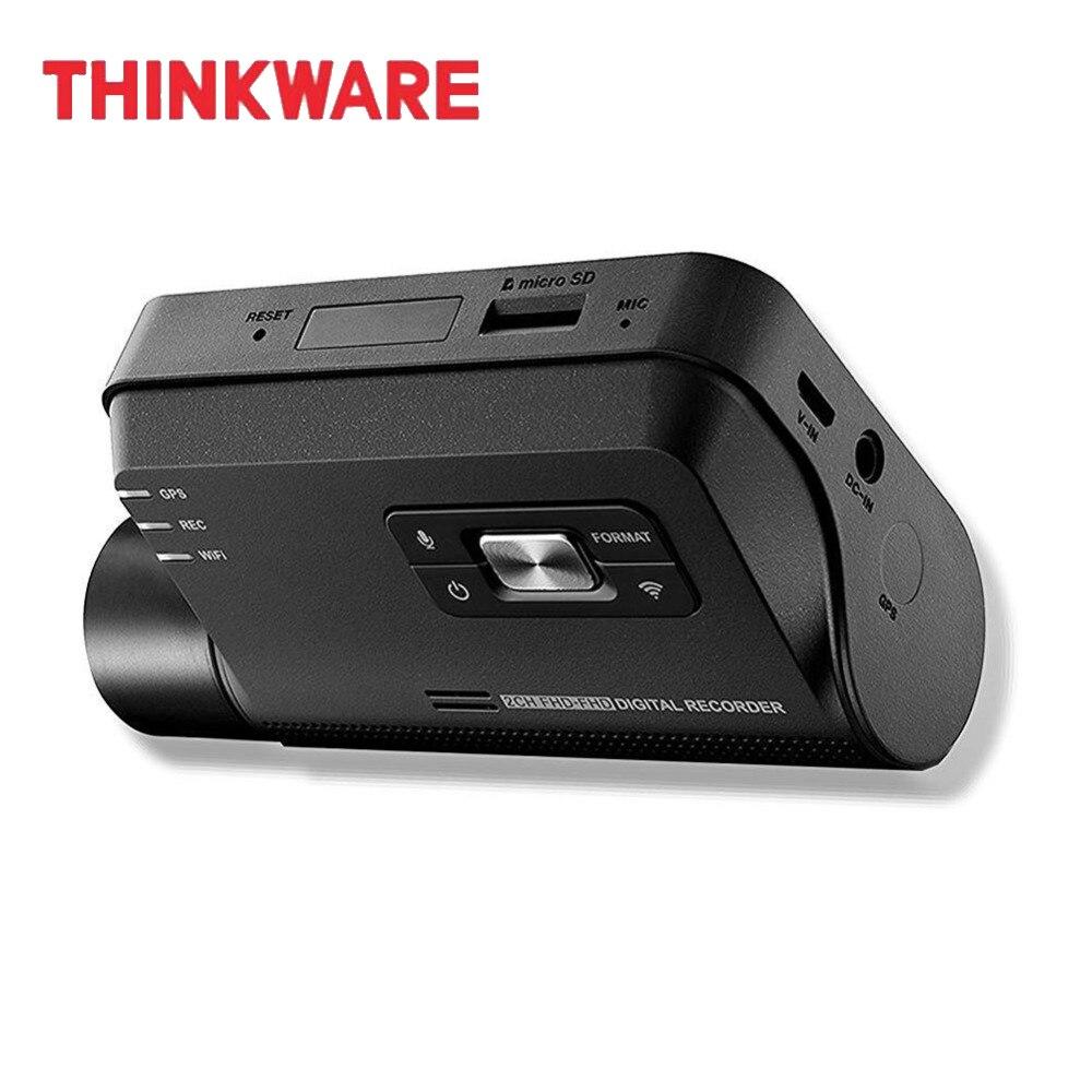 Thinkware cámara de salpicadero F800 PRO Video grabadora 1 canal negro HD caja coche DVR tarjeta Micro SD Kit de cableado