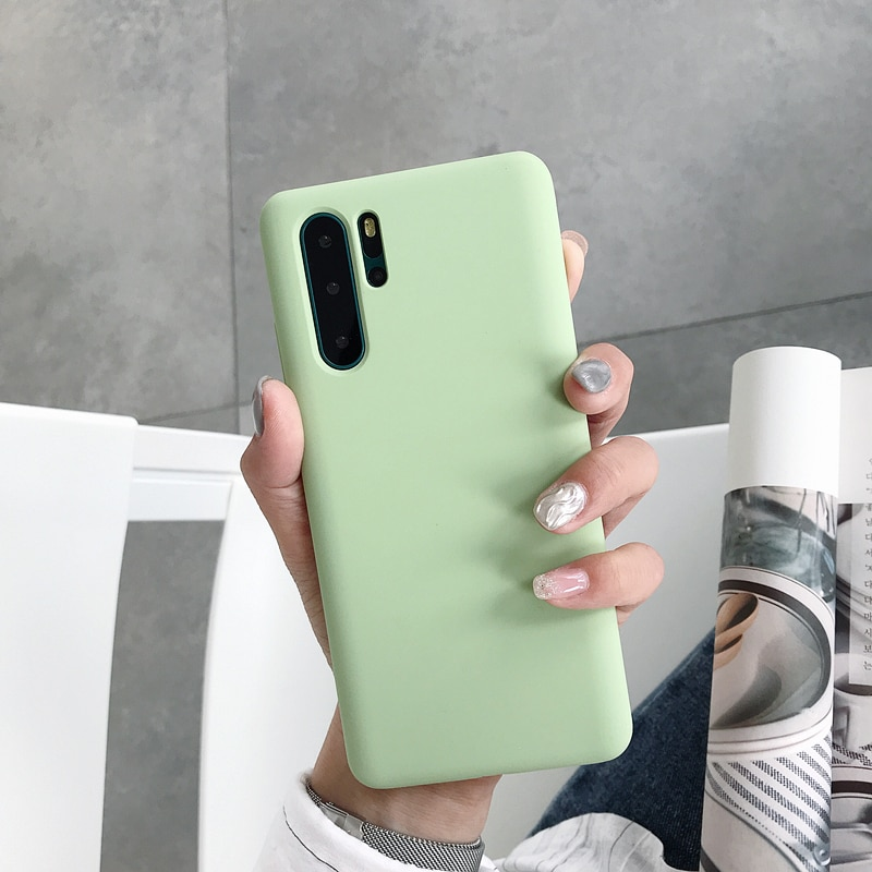 Toraise para Huawei P30 Pro funda Original de silicona líquida a prueba de golpes para Huawei Mate 20 Pro P30 P20 Pro Lite funda de teléfono
