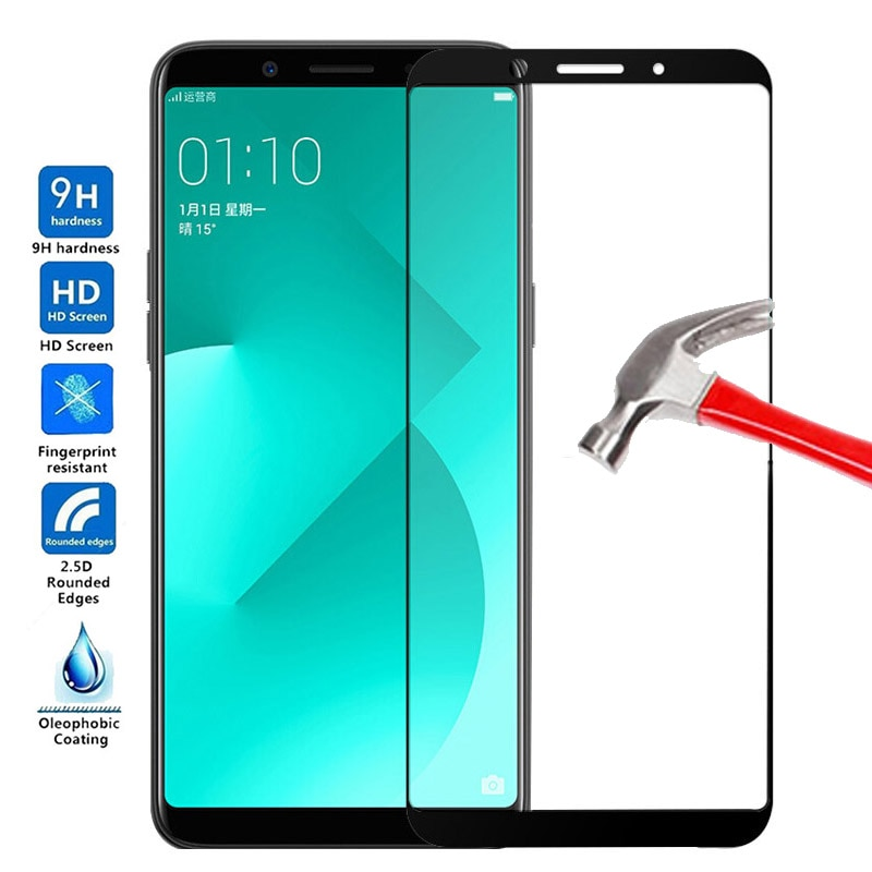 For OPPO A83 Screen Protector Tempered Glass For OPPO A83 Full Cover Glass For OPPO A83 A83 Protecti